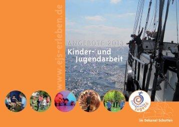 Jahresprogramm 2013 - Evangelische Jugend Schotten
