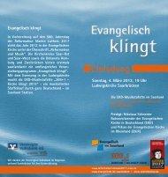 Die Einladungskarte zum Herunterladen - Evangelische Kirche Saar