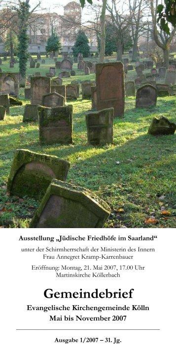 + PDF (1) Download - Evangelische Kirche Saar