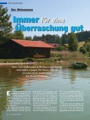 Sicher. Auch im Weissensee in Oberbayern sind Kapitale - A.S.O.