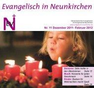 Februar 2012 - Evangelische Kirche Saar