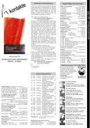 Ausgabe I/2009 - Evangelische Kirche Saar