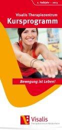 Visalis Kursprogramm 2. HJ. 2013 - Ev. Krankenhaus Wesel