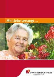 Image Broschüre Christophorus-Haus - Ev. Krankenhaus Wesel
