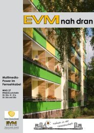 EVMnah dran Nr. 21 Multimedia-Power im ... - EVM Berlin eG