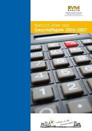 Bericht über das Geschäftsjahr 2006/2007 - EVM Berlin eG