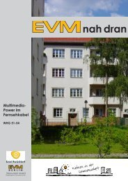EVMnah dran Nr. 22 Multimedia-Power im ... - EVM Berlin eG