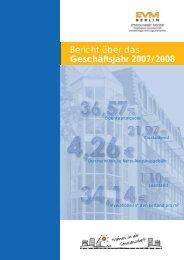 Bericht über das Geschäftsjahr 2007/2008 - EVM Berlin eG