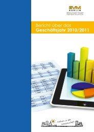 Bericht über das Geschäftsjahr 2010/2011 - EVM Berlin eG