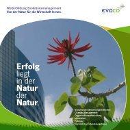 Informationsbroschüre zur Weiterbildung - Evoco