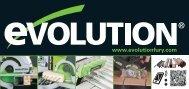 telecharger la brochure - Evolution Power Tools Ltd.