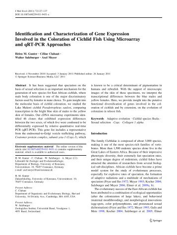 Identification and Characterization of Gene Expression Involved in ...