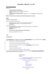 Mitschrift 18.11.05 - Evolutionsfehler.de