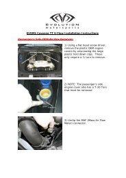 EVOMS Cayenne TT V-Flow Installation Instructions Passenger's ...