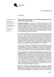 Evotec gibt die Ernennung von Dr. Wer... (pdf - 45,97 kB)