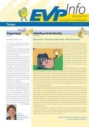 EVP Info Nr. 19 / Februar 2010 - EVP Thurgau