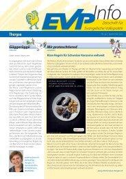 EVP Info Nr. 29 / September 2012 - EVP Thurgau