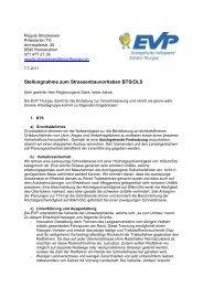 VNL BTS OLS - EVP Thurgau