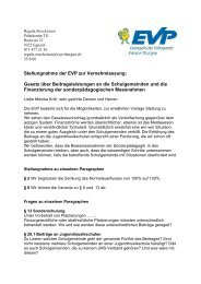 VNL Schulfinanzierung Sonderpaedagogik 08 06 - EVP Thurgau