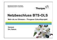 Netzbeschluss BTS-OLS - EVP Thurgau