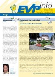 EVP Info Nr. 32 / Mai 2013 - EVP Thurgau