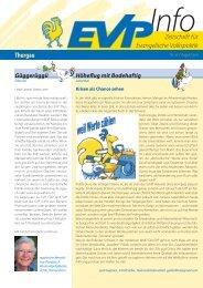 EVP Info Nr. 25 / August 2011 - EVP Thurgau