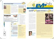 EVP Info Nr. 17 / August 2009 - EVP Thurgau