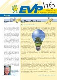 EVP Info Nr. 18 / November 2009 - EVP Thurgau