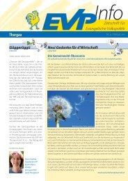 EVP Info Nr. 31 / Februar 2013 - EVP Thurgau