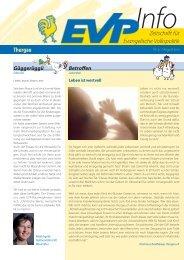EVP Info Nr. 21 / August 2010 - EVP Thurgau
