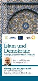 Islam und Demokratie - Evangelische Kirche der Pfalz
