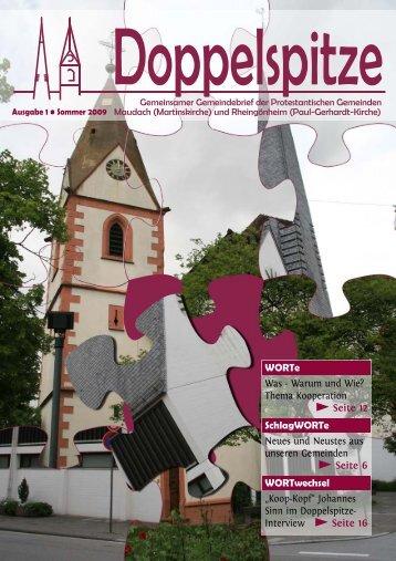 2009_2 Kooperation.qxd - Evangelische Kirche der Pfalz