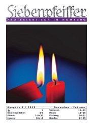 Ausgabe 4 / 2012 Dezember - Evangelische Kirche der Pfalz
