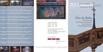 2012PREDIGT REIHE - Evangelische Kirche der Pfalz