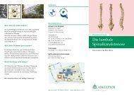 Flyer Spinalkanalstenose herunterladen - Asklepios