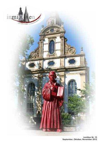 inmitten Nr. 15 September, Oktober, November 2012 - Evangelische ...