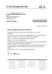 Fahrt zur Bibelwerkstatt nach Dortmund http://www.kirchengemeinde ...