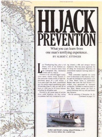 Hijack Prevention