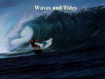 Waves and Tides