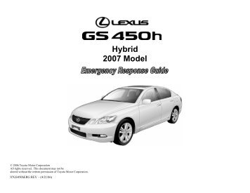 Gs450h Techinfo Toyota