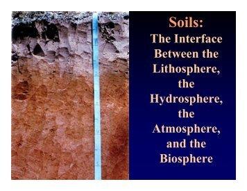 Soils: