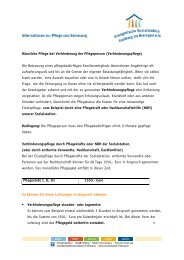 Verhinderungspflege - Evangelische Sozialstation Freiburg