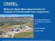 Molecular Beam Mass Spectrometry for Analysis of ... - EVUR