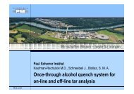 Once-through alcohol quench system for on-line and off-line ... - EVUR