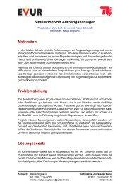 Beschreibung (PDF, 204,6 KB) - EVUR - TU Berlin