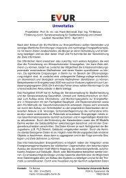 Beschreibung (PDF, 44,9 KB) - EVUR - TU Berlin