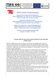 Concept study for energy and resource efficiency ... - EVUR - TU Berlin
