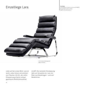 Einzelliege Lara. - Ewald Schillig
