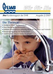 Wir für Sie - Ausgabe 2/2007 - Energie