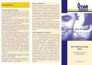 Info-Flyer 2007